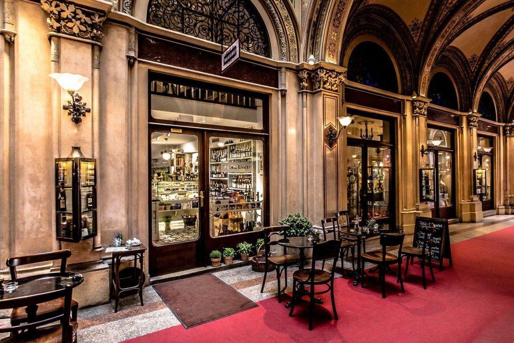 Prendre un café à Vienne