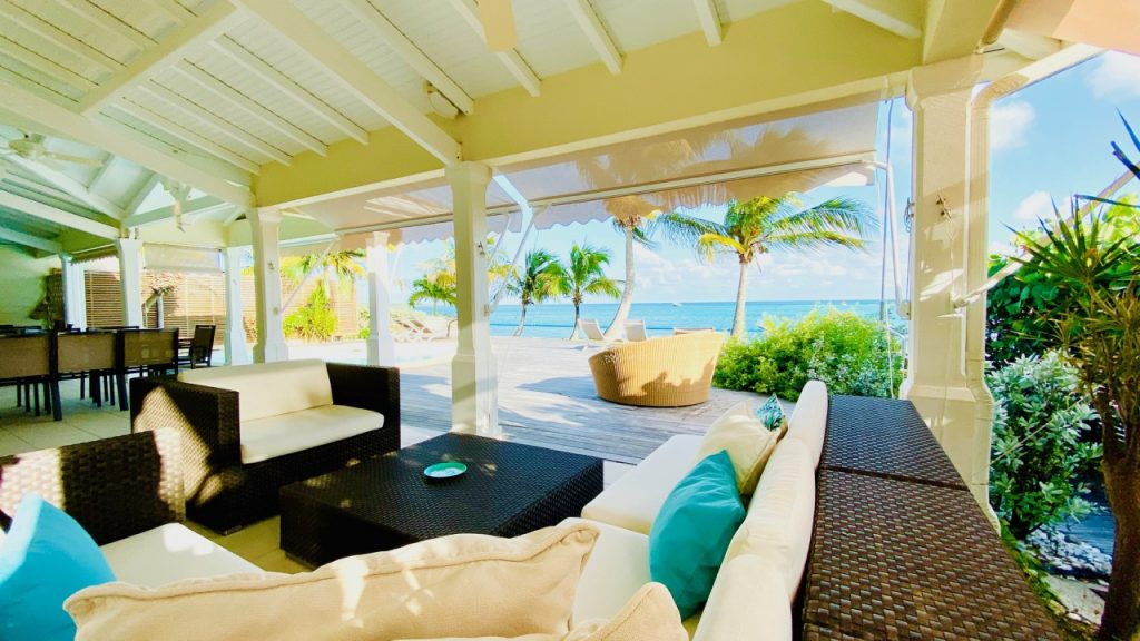 Villa bord de mer en Guadeloupe