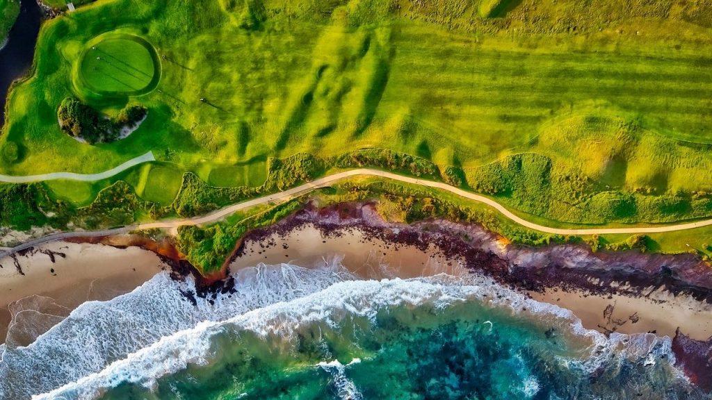 Golf bord de mer